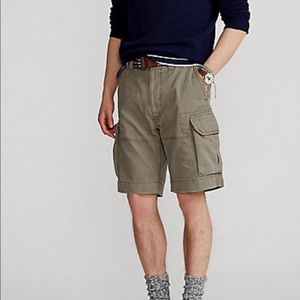 Ralph Lauren Classic Fit Chino Cargo Short